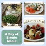 A Day of Simple Meals
