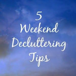 WeekendDecluttering