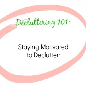 Declutter101Motivated