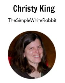 Christy King Simple White Rabbit
