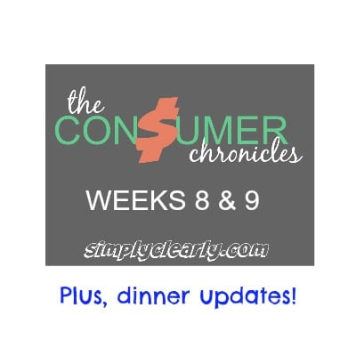 consumer chronicles weeks 8 and 9
