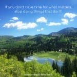 Stop Doing Things That Don't Matter-Prioritize