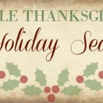 Simple Thanksgiving and Holiday Seasons